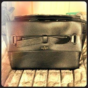 Kate spade mid size black purse